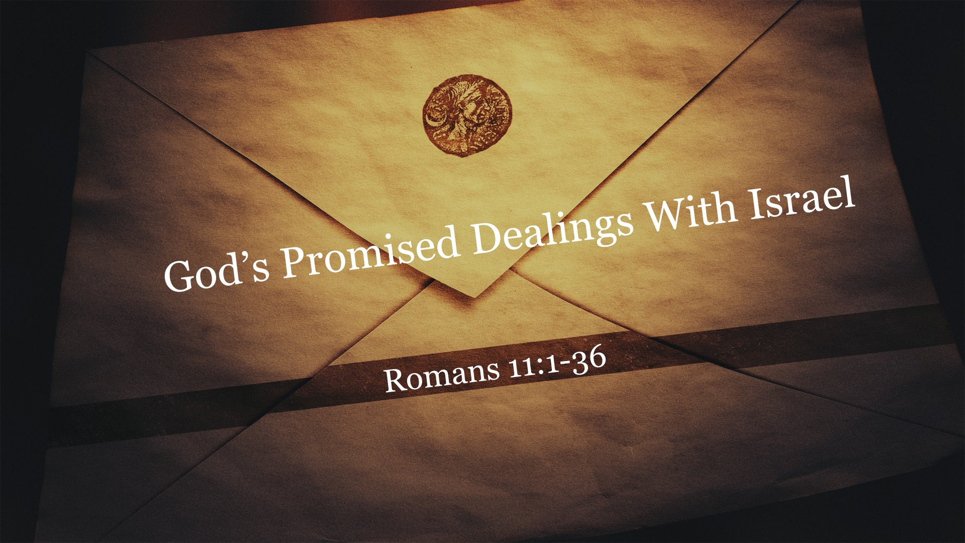 God's Promised Dealings with Israel